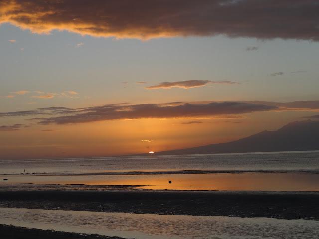 Siquijor Kiwi Dive Resort sunset