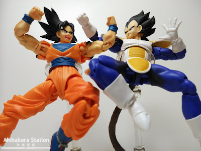 Review del S.H.Figuarts Vegeta de Dragon Ball Z - Tamashii Nations.