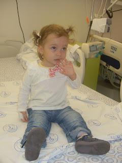 Fitzi: Infectia cu Adenovirus si internarea la Matei Bals
