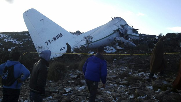 Military Plane Crash In Algeria  Clains 100 Casualties