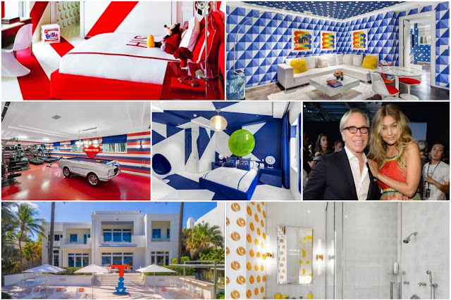 Home Designer Tommy Hilfiger's House Where Creativity And Fun