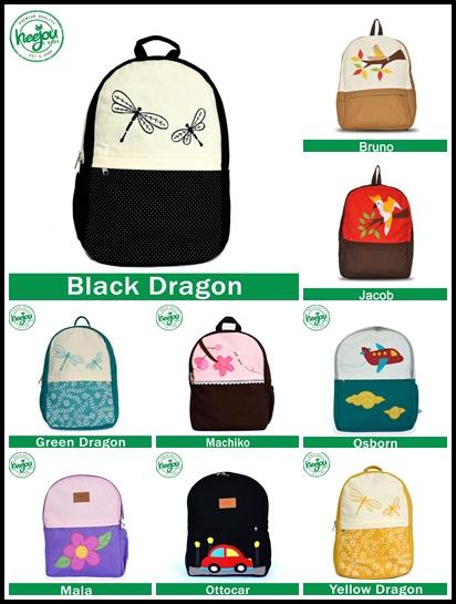 tas ransel sekolah, tas ransel lucu, agen heejou, tas anak unik, grosir tas anak