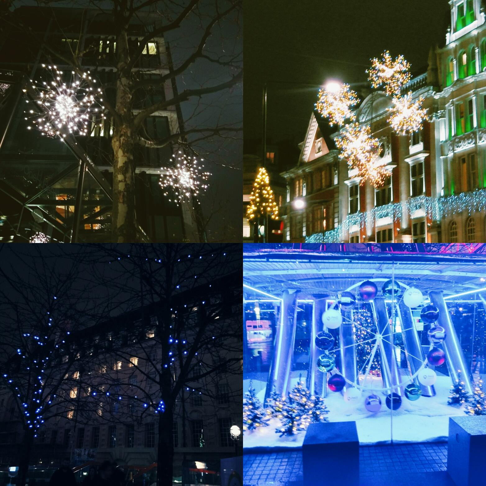 lebellelavie - We went to see the London Christmas Lights