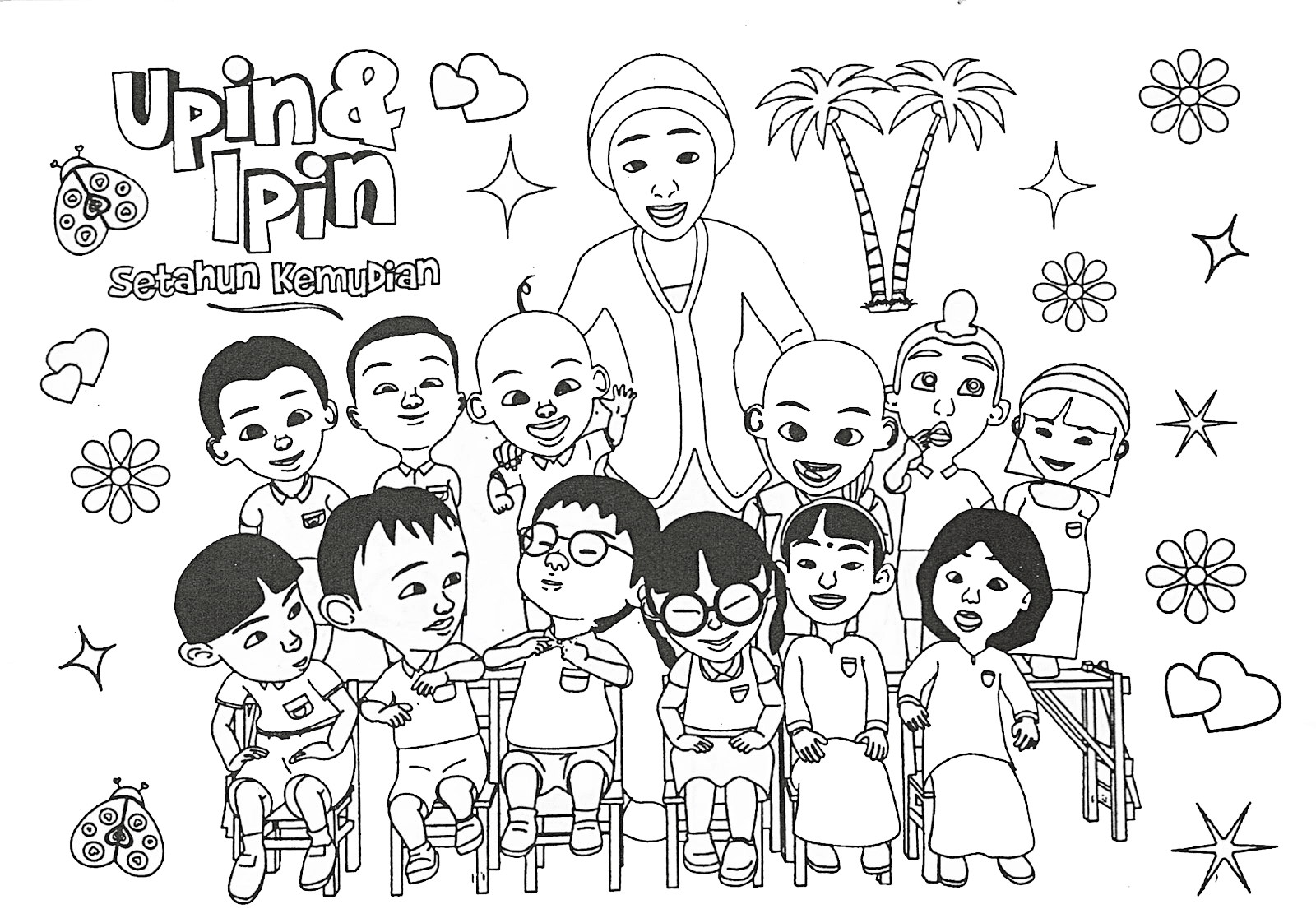 Gambar Animasi Kartun Adit Sopo Jarwo Freewaremini