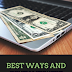 BEST WAYS AND BEST WEBSITE FOR EARNING MONEY