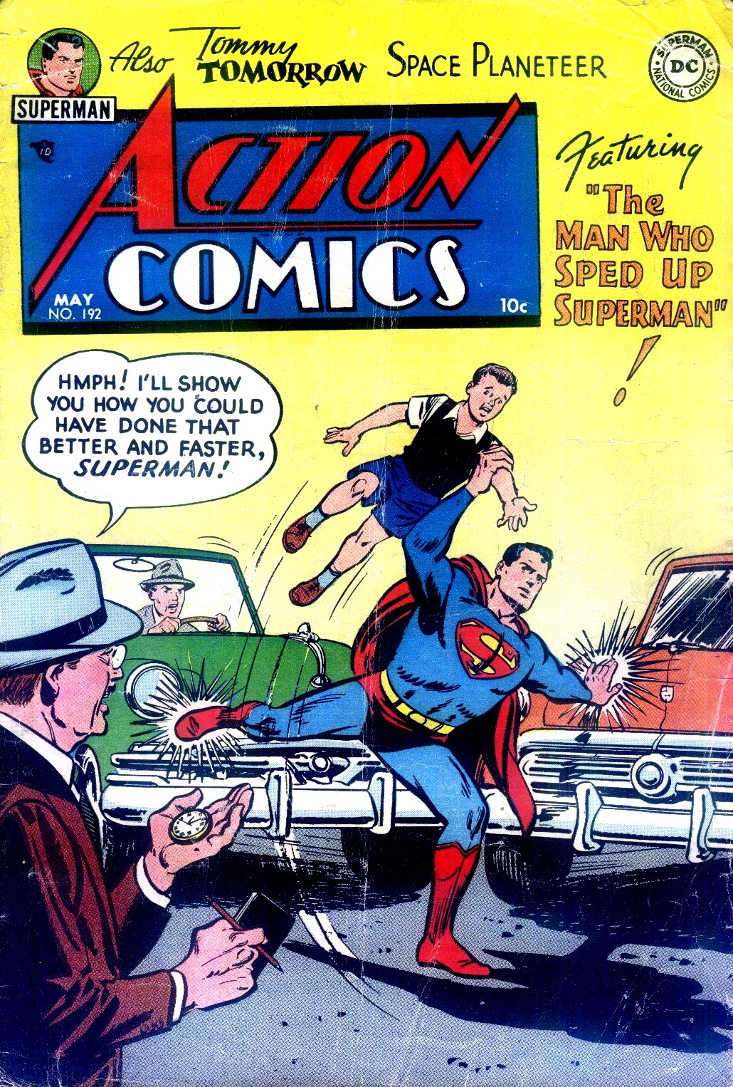 Read online Action Comics (1938) comic -  Issue #192 - 1