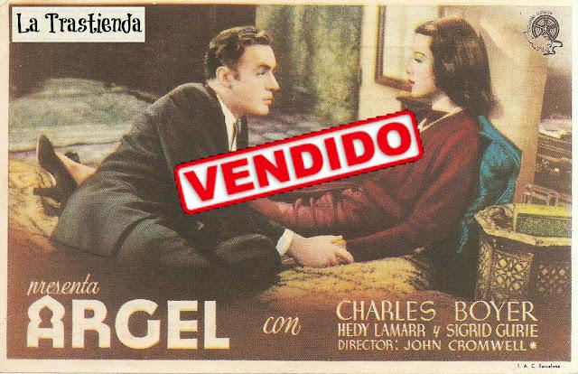 Programa de Cine - Argel - Charles Boyer - Hedy Lamarr
