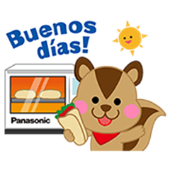 Line Stickers Panasonic Happy Life Stickers Free Download