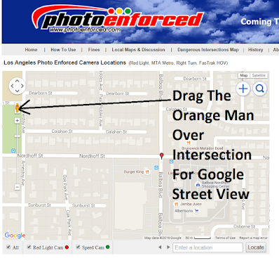 How To View Intersection Street View