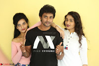 Kiran Chetwani with Janani Iyyer and others at Lakshmi Devi Samarpinchu Nede Chudandi Movie Interview 015.JPG