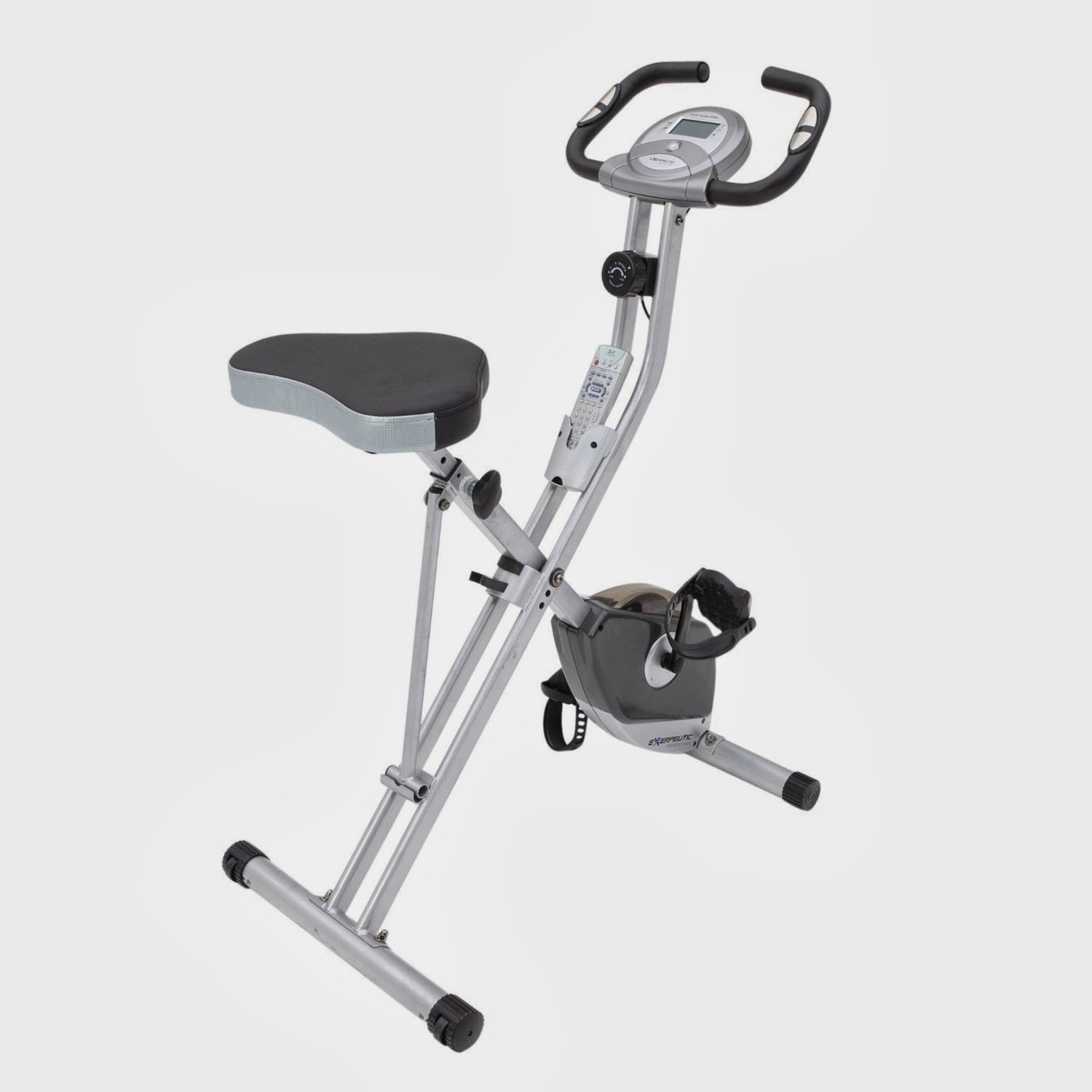 Exerpeutic Folding Magnetic Upright Exercise Bike with Pulse, picture, review features & specifications