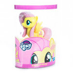 My Little Pony Molded Mane Pony Singles Fluttershy Brushable Pony