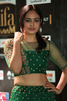 Nandita Swetha in a tight Green Choli Ghagra at IIFA Utsavam Awards March 2017 ~ 063.JPG