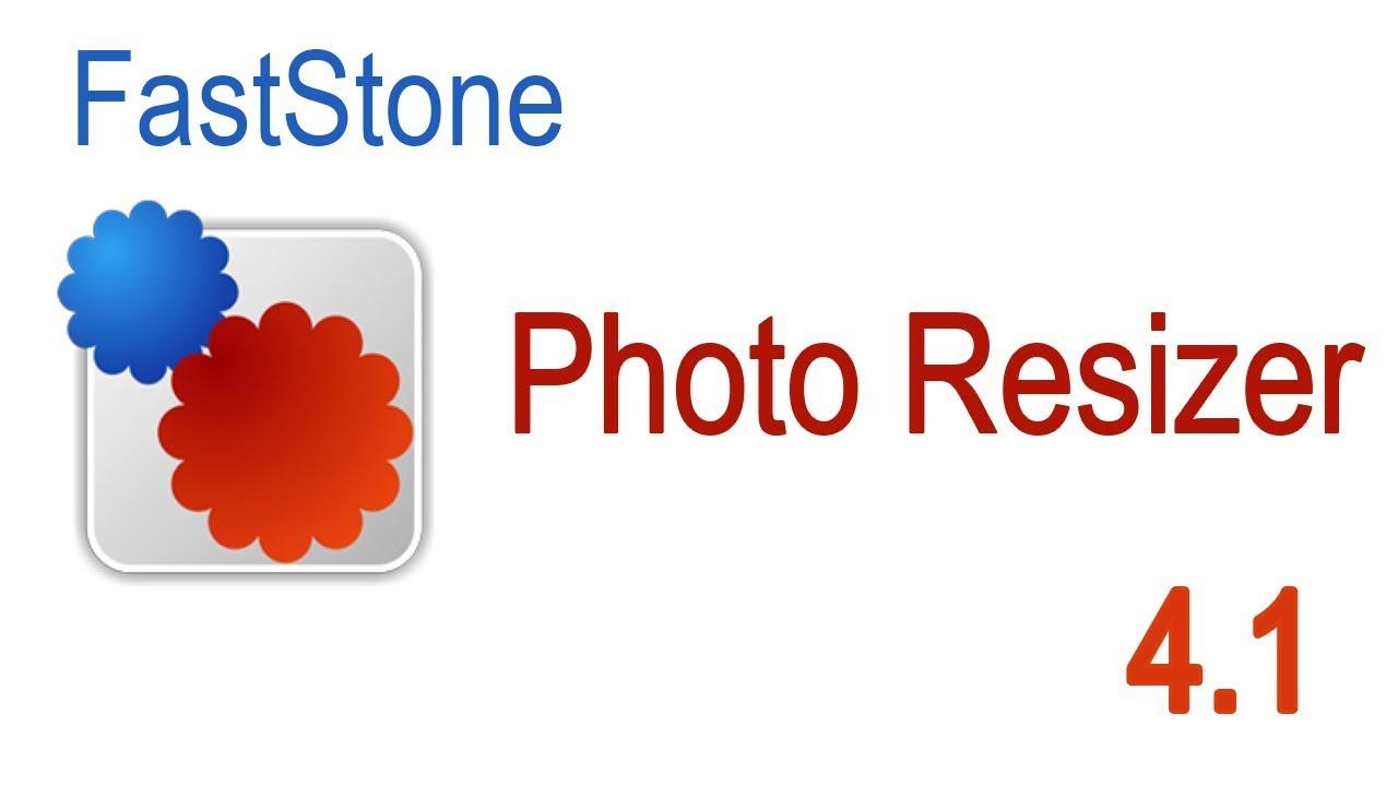 برنامج تصغير حجم الصور و بنفس الجودة :  FastStone Photo Resizer V 4.3