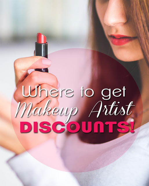 Makeup Artist Discounts CANADIAN Edition!