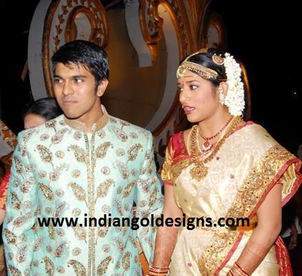Indiangoldesigns Com Jewellery At Chiranjeevi Eldest