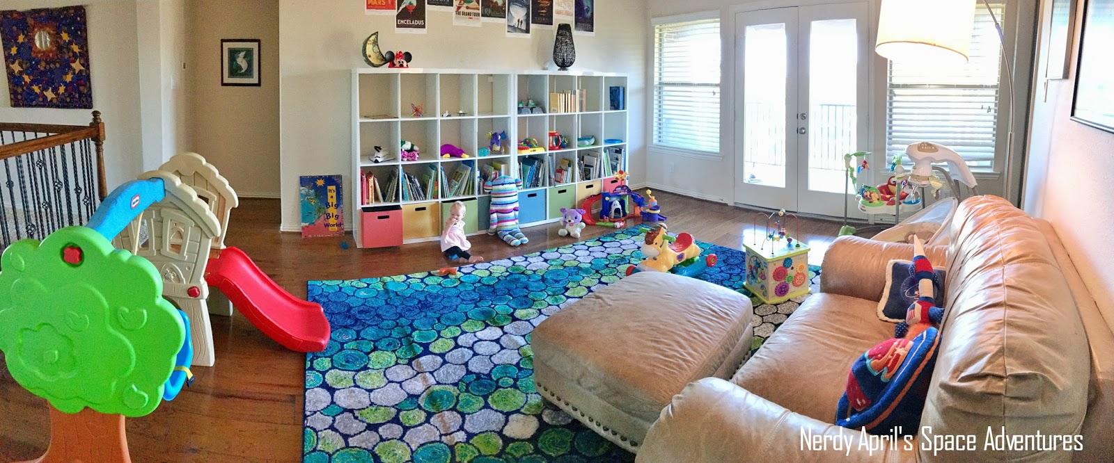 Designing A Nerdy Playroom