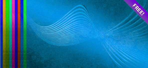 Psd Files Free Download: Abstract Wave Backgrounds, psd