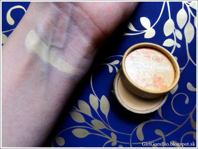 Couleur Caramel concealer 11 Light Sandy Beige swatch