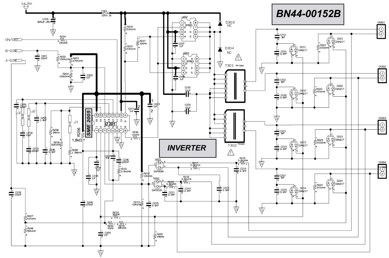 BN44 00152B Samsung UN40H5203, Samsung LE32R87BD LCD TVs