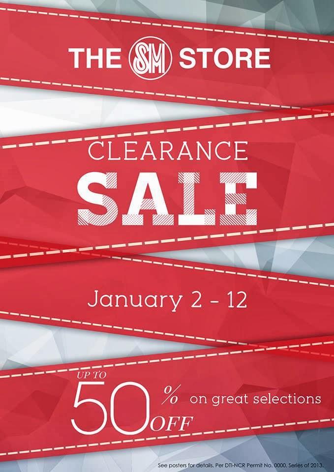 Manila Shopper Sm Stores Clearance Sale Jan 2014