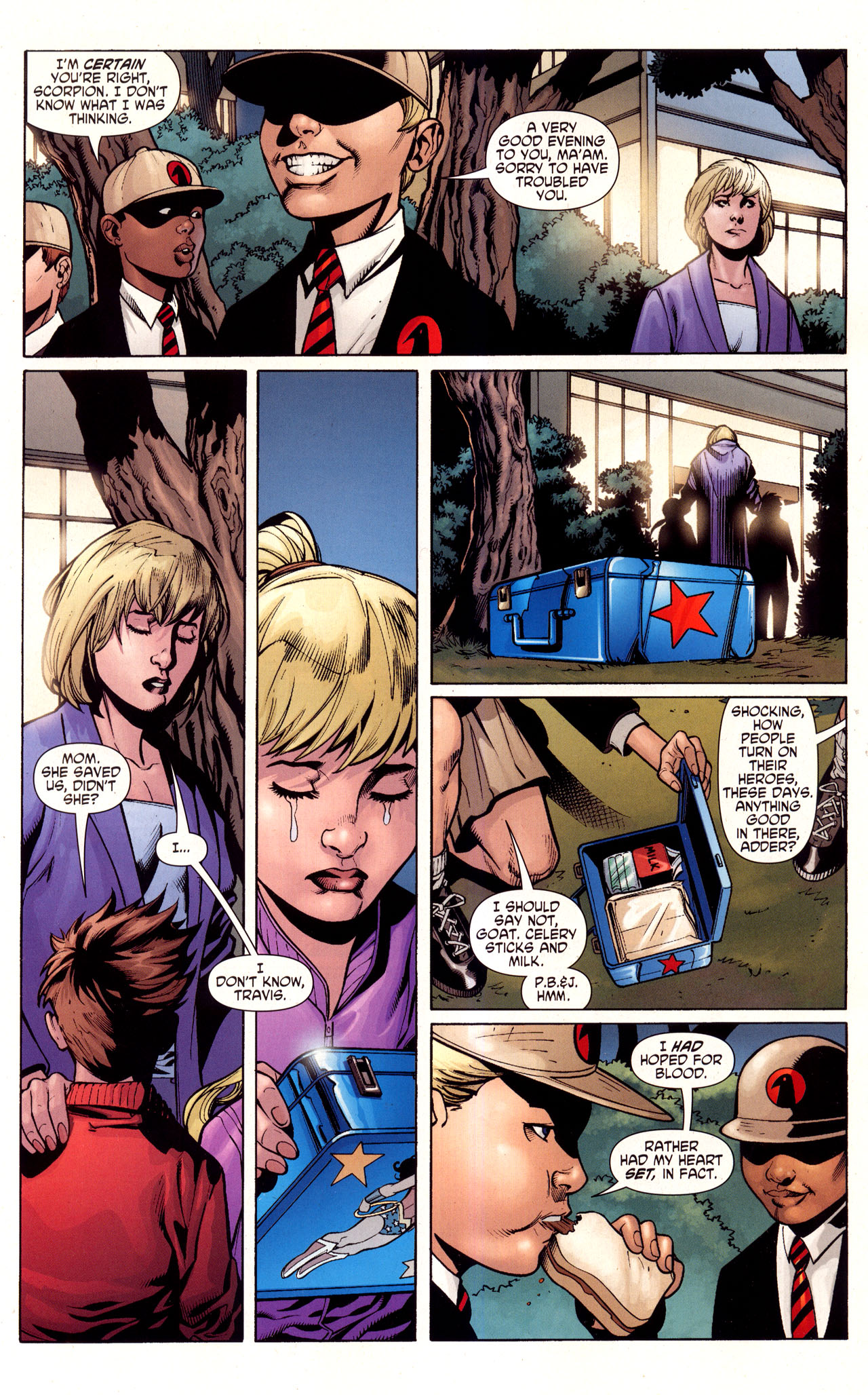 Read online Wonder Woman (2006) comic -  Issue #40 - 9
