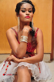 Telugu Dancer Nisha  Pictures at Babu Bangaram Audio Launch  0034.JPG