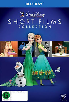 Walt Disney Shorts Films Collection 2015 BD25 + DVD Latino