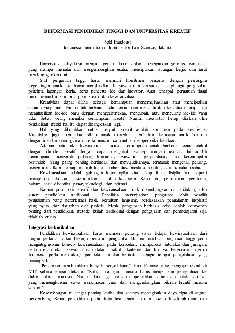 Pdf Karya Ilmiah Populer Sokhi Huda Academia Edu