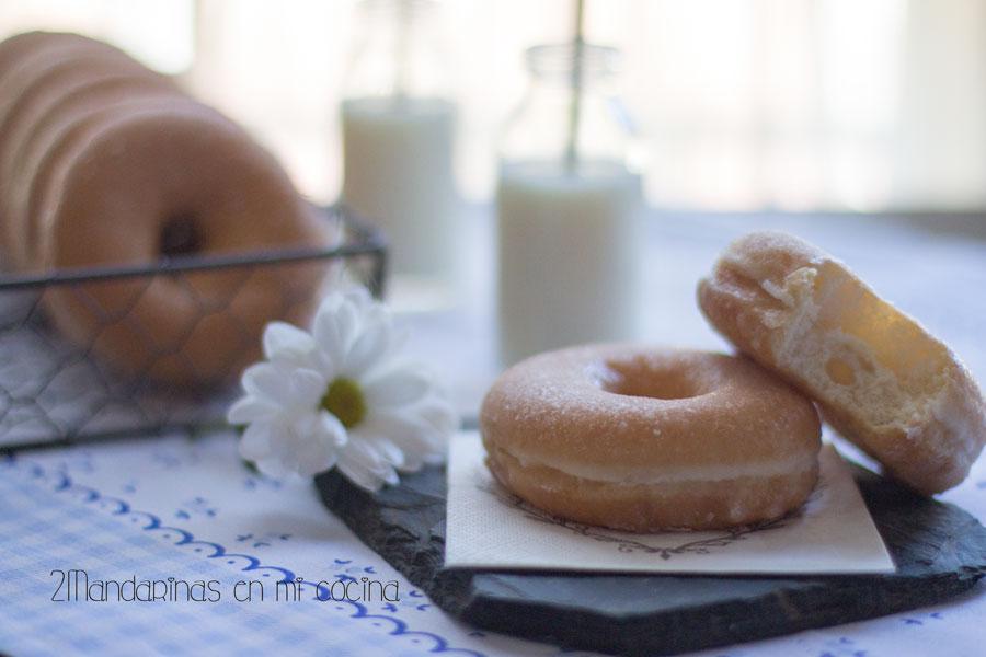 como preparar donuts caseros de azucar con thermomix
