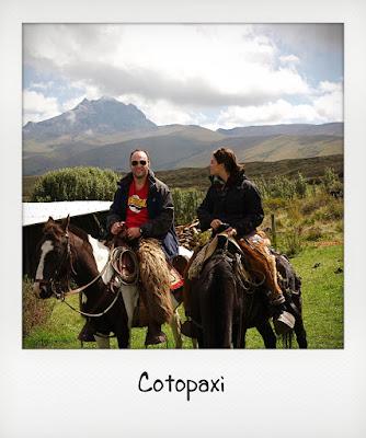 Cavalcata in Ecuador per la luna di miele
