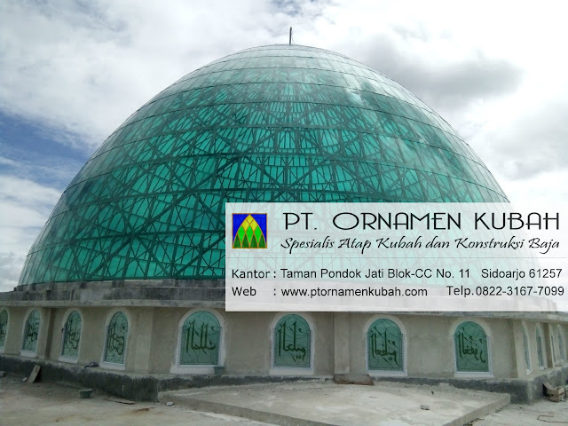 Kubah Masjid Pondok Pesantren Az-Zikra Bogor