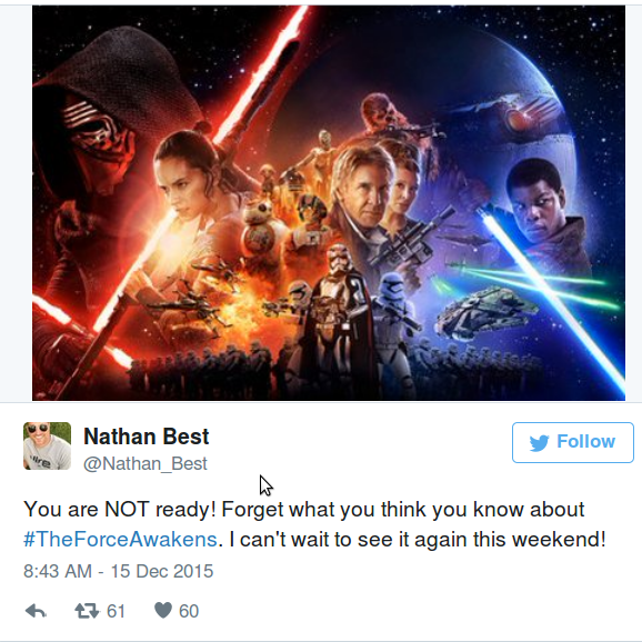 Звездные Войны 2015: первые мнения