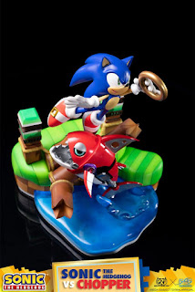 Sonic Vs Chopper de Sonic The Hedgehog - GNF Toyz y First 4 Figures