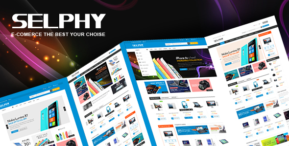 Download Selphy - Mega Shop Responsive Magento Theme
