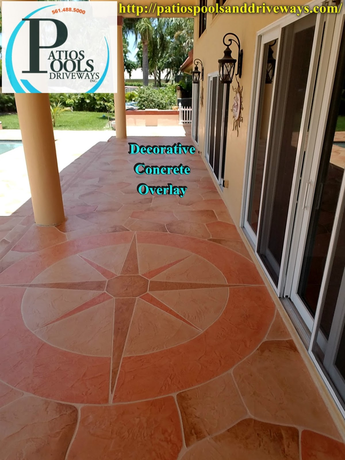 decorative concrete overlay. Decorative concrete overlay  residential pool deck remodel Concrete The many faces for your driveway patio or