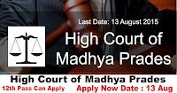 High Court of Madhya Pradesh Recruitment 2015