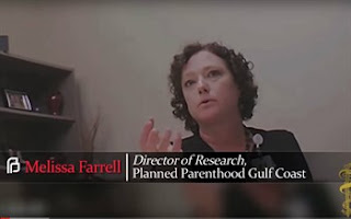 Undercover video of Planned Parenthood