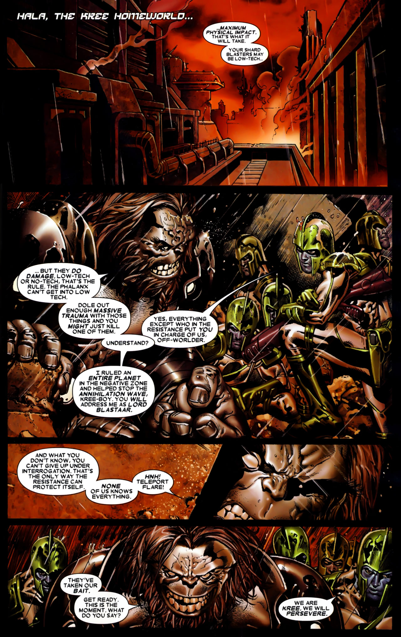 Read online Annihilation: Conquest comic -  Issue #1 - 2