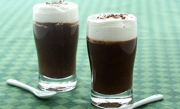 """Natillas De Cerveza Y Chocolate """"con Espuma"""""""