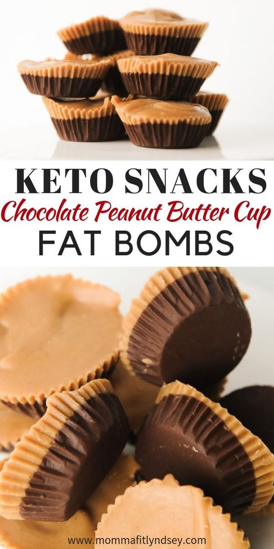 Peanut Butter Cup Keto Fat Bomb