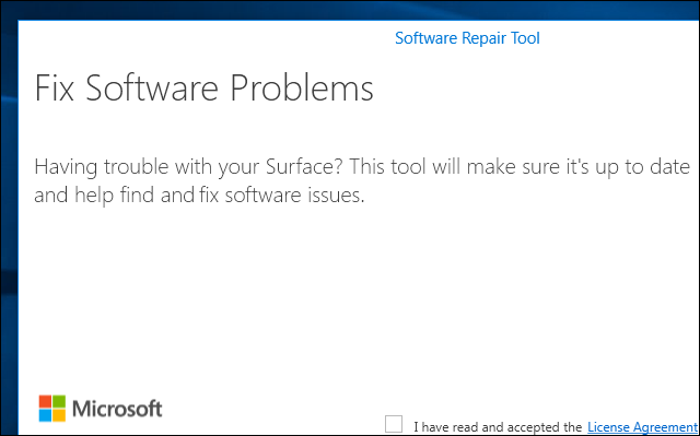 اصلاح مشاكل ويندوز 10 بأستخدام اداة Microsoft Software Repair Tool