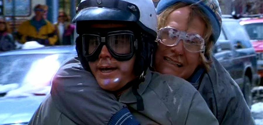 Lloyd şi Harry în filmul Dumb And Dumber din 1994