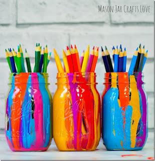 Riciclo creativo: Barattoli di vetro - Kreattivablog