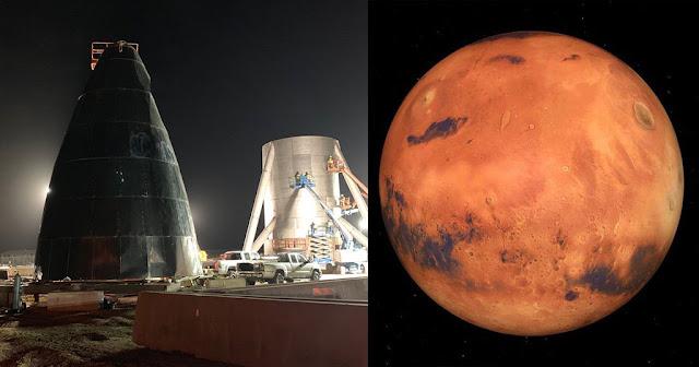 Αυτό είναι το διαστημόπλοιο κάψουλα που θα μεταφέρει 100 ανθρώπους στον Άρη