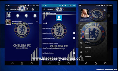 BBM Chelsea FC Themes New Based 2.12.0.11 APK