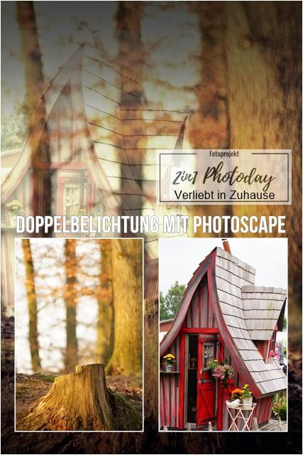 2in1 Photoday: Bildbearbeitung und Doppelbelichtung mit PhotoScape