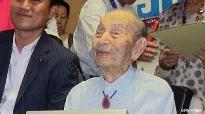 Inilah Pria Tertua di Dunia Berusia 112 Tahun 178 Hari