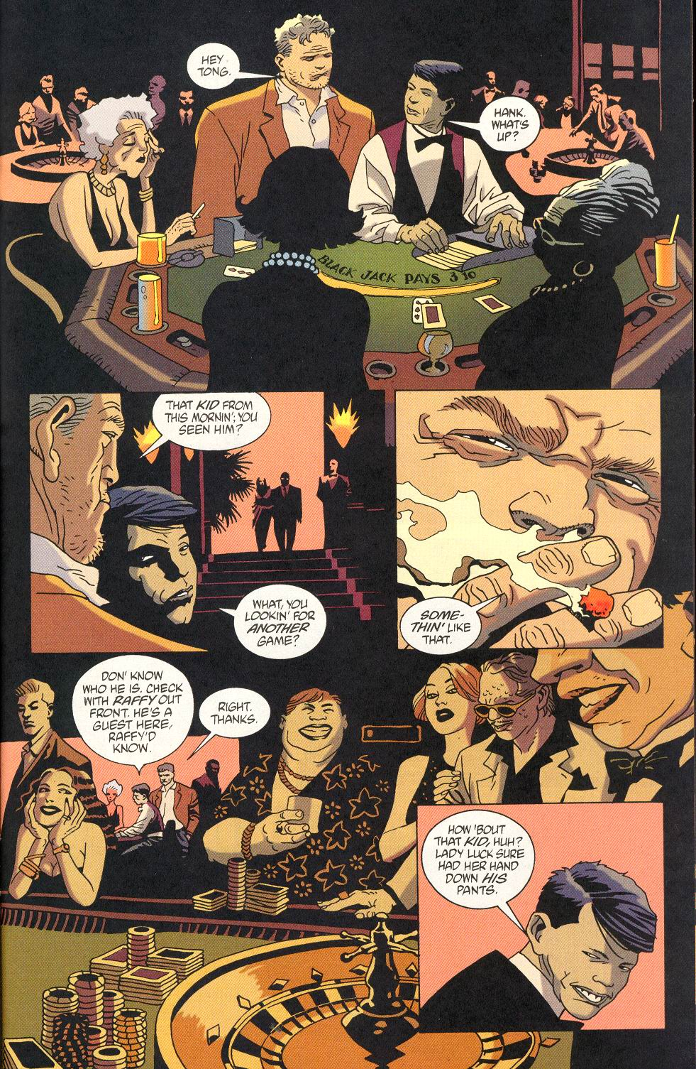 Read online 100 Bullets comic -  Issue #23 - 19