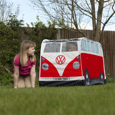 T3 Vanagon Spot: Kids Retro VW Bus Play Tent